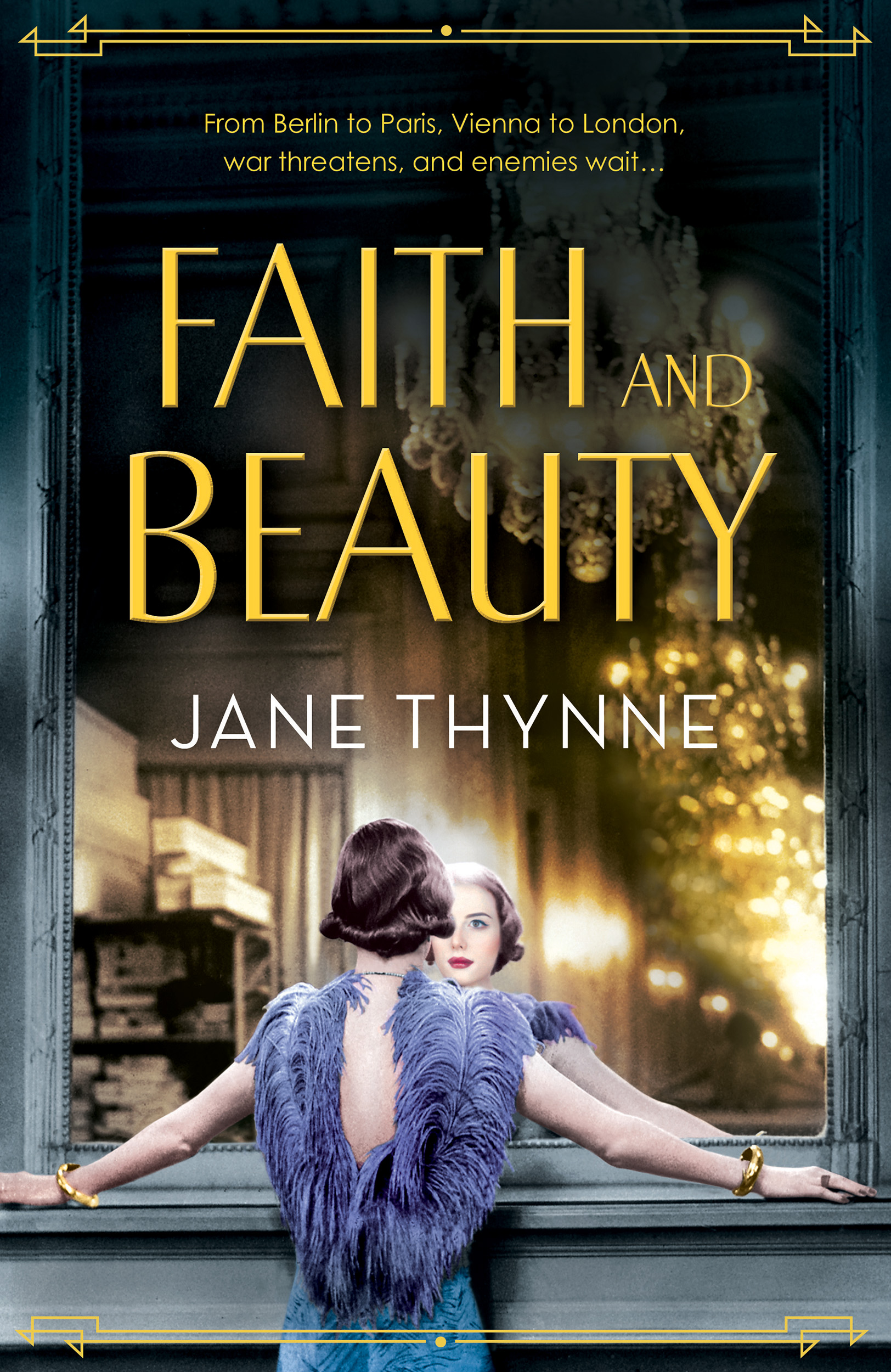 Faith and Beauty (UK) or The Pursuit of Pearls (US) Clara Vine #4 book cover